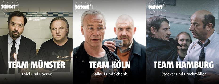 Größtes Tatort-Archiv Deutschlands