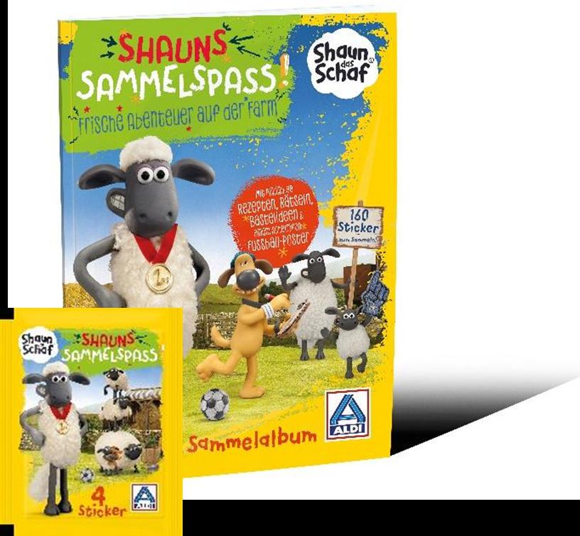 """Sammelspaß mit """"Shaun das Schaf"""""""