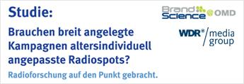 Brauchen breite Kampagnen altersindividuell angepasste Radiospots?