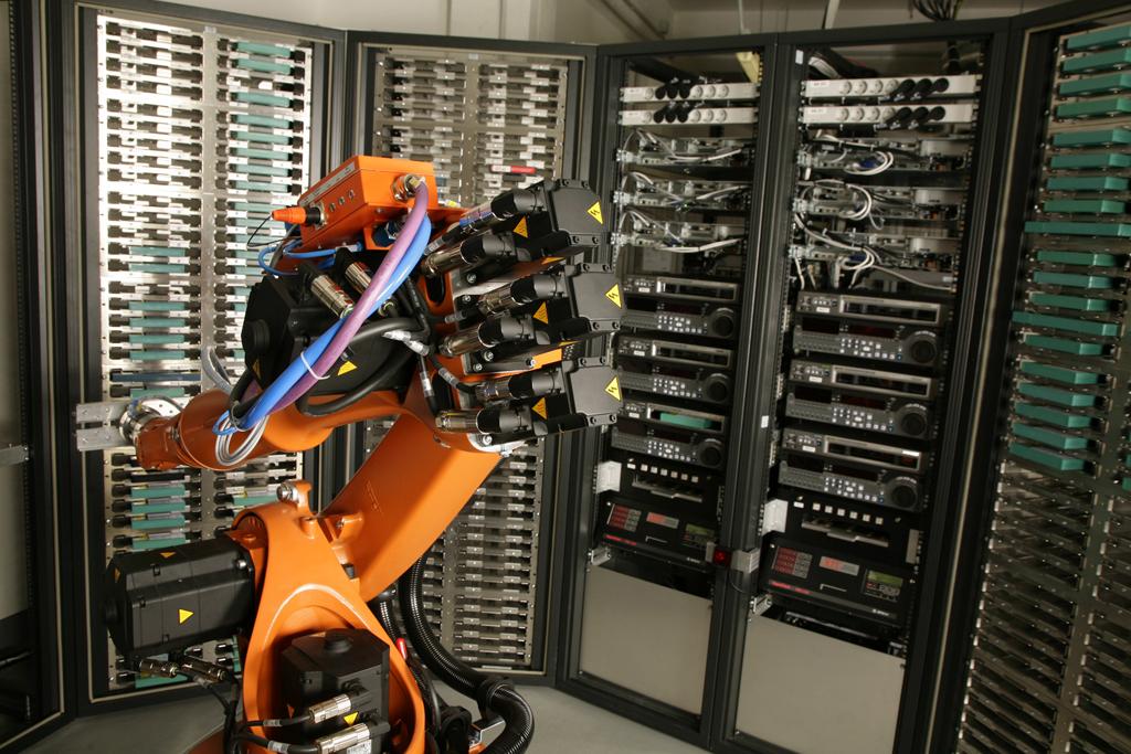 Der Industrieroboter im Einsatz