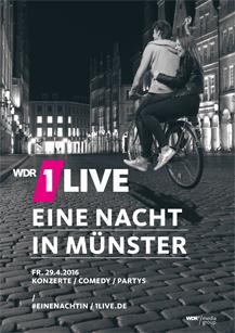 1Live - Eine Nacht in Münster