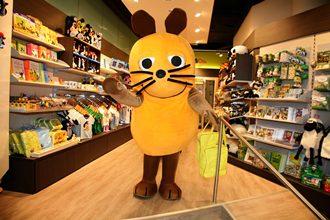 Die Maus zu Besuch im Maus&Co.-Laden