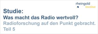 Was macht Radio wertvoll?