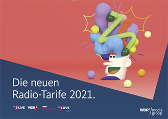 Deckblatt Radio-Tarife 2021