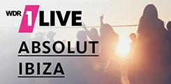 1LIVE Absolut Ibiza Programmaktion