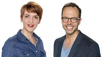 WDR 2 Mittagsmagazin Neu 2017 Programmreform mit neuen Moderatoren Schaum und Habeck.