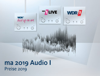 MA 2019 Audio I Ergebnisse WDR 2 und 1LIVE Reichweiten