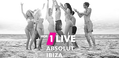 Key Visual 1LIVE Absolut Ibiza Programmaktion