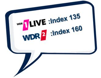 Wellenwissen Urlaubsreisen 1LIVE und WDR 2 VUMA 2019
