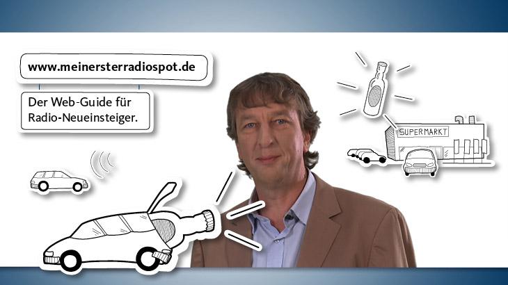 Der Weg zum ersten Radiospot; WDR mediagroup