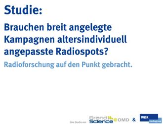 Radio-Studien und Radio-Forschung